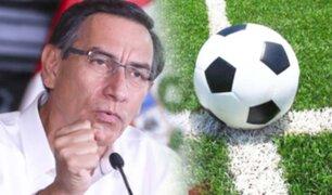 Se publicó el Decreto Supremo que autoriza el retorno del fútbol profesional