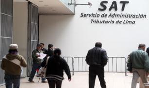 SAT da las siguientes pautas a contribuyentes para evitar aglomeraciones