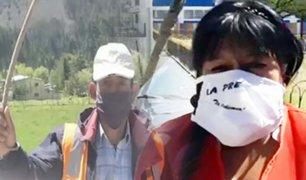 Látigos contra el COVID-19: la drástica forma de evitar la propagación del virus en Cajamarca
