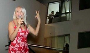 Pintura Roja realiza concierto para vecinos de Lince