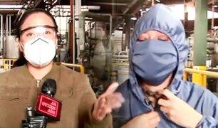 Emprendedores contra el COVID-19 fabrican trajes de bioseguridad de calidad