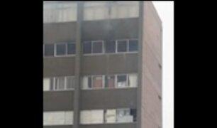 Cercado de Lima: se registra incendio en la Corte Superior de Lima
