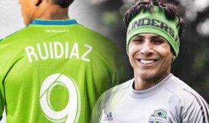 Raúl Ruidíaz ya entrena junto al Seattle Sounders