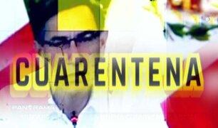 La confusa presentación presidencial en la que Vizcarra anunció la nueva convivencia