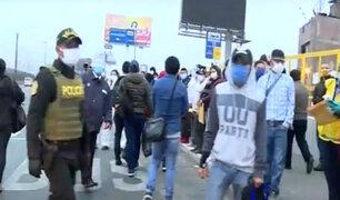 El Agustino: caos continúa pese a operativos en Puente Nuevo