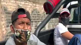 SJL: atrapan a banda mientras desmantelaba autopartes