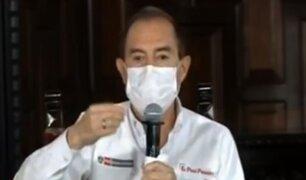 """Walter Martos: """"Cada alcalde toma la mayor prevención para cuidar a su gente"""""""