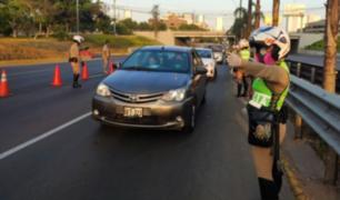 PNP informó el cierre de importantes vías de Lima Metropolitana durante este 24 de diciembre