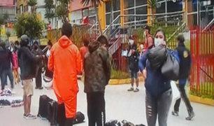 La Victoria: ambulantes toman calles de Gamarra para ofrecer sus productos
