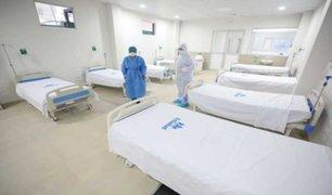 Hospital Almenara: ponen en funcionamiento nueva área para atender a pacientes con COVID-19
