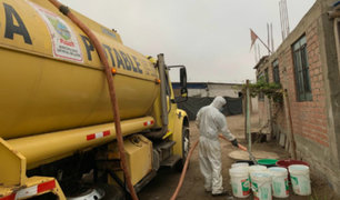 Lurín: más de 20 mil familias vulnerables han sido beneficiadas con agua potable