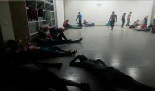 Venezolanos que regresaron a su país por la COVID-19 denuncian hacinamiento y maltrato