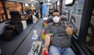 EsSalud realiza campaña de donación de sangre para salvar vida de pacientes crónicos