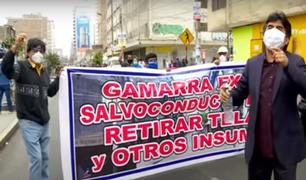 Trabajadores de Gamarra piden ser incluidos en la fase 1 de la reanudación de actividades