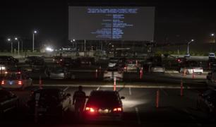 Uruguay: aeropuerto de Montevideo se convierte en autocine durante la pandemia