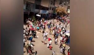 Mercado del Rímac lució abarrotado en primer día de 'nueva convivencia social'