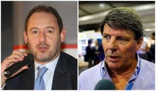 Plantean dos mociones para salida de José Chlimper y Rafael Rey del BCR