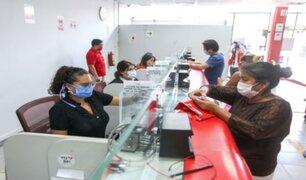 Entidades bancarias refuerzas protocolos sanitarios para frenar avance de la COVID-19