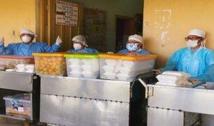 Iquitos: donan alimentación para pacientes con COVID-19 y personal de salud