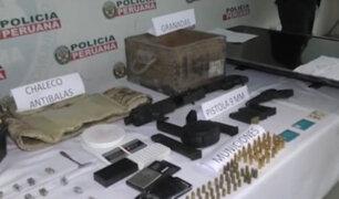 VES: capturan a banda que pretendía asaltar entidad financiera con armamento de guerra