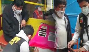 Independencia: capturan a sujeto con decenas de teléfonos robados