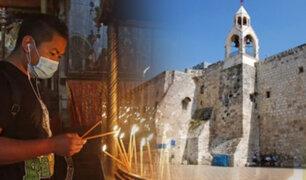 Israel: reabren la basílica de la Natividad en Belén