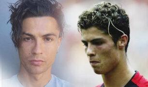 El nuevo look de Cristiano Ronaldo sorprende a sus seguidores en las redes