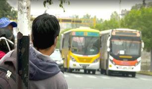 Transportistas anuncian paro indefinido por falta de subsidio