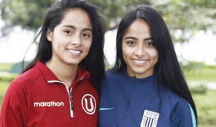 Las futbolistas Xiomara y Xioczana Canales dieron positivo a prueba de COVID-19