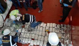 Callao: incautan más de 172 kilos de cocaína en nave portacontenedores alemán