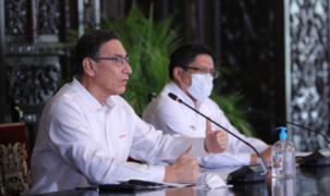 Oficializan reducción de sueldos del presidente Vizcarra, ministros y altos funcionarios