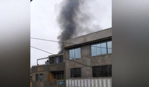 Independencia: incendio en vivienda se registró por presunto corto circuito