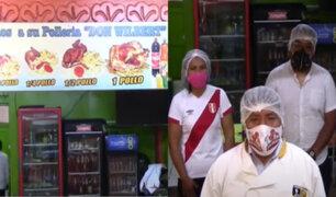 Cusco: dueño de pollería regala pollos a la brasa a sus vecinos