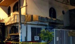 SJL: cadáver de panadero fue hallado descuartizado dentro de su vivienda