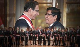 Congreso otorgó voto de confianza a gabinete de Zeballos tras 12 horas de sesión