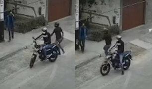 Los Olivos: Continúan denuncias de vecinos por robos en moto