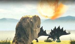 Científicos recrean en 3D el impacto del asteroide a la Tierra que acabó con los dinosaurios
