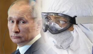 Putin considera superado el pico de la pandemia en Rusia