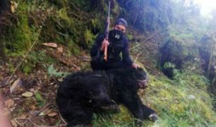 Facebook: denuncian caza ilegal de oso de anteojos en Puno