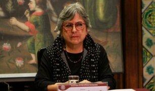 Sonia Guillén renuncia al cargo de ministra de Cultura