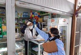 Miraflores: 100% de comerciantes y ayudantes del Mercado Municipal de Santa Cruz dieron negativo a COVID-19