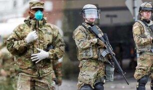 EEUU:  Minnesota moviliza al ejército para contener disturbios