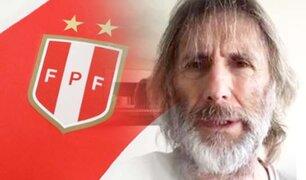 Ricardo Gareca habló sobre su permanencia al frente de la Bicolor