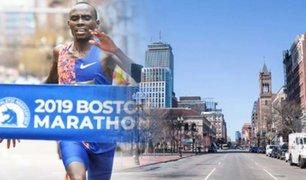 Debido al COVID-19: la Maratón de Boston fue cancelada por primera vez en su historia