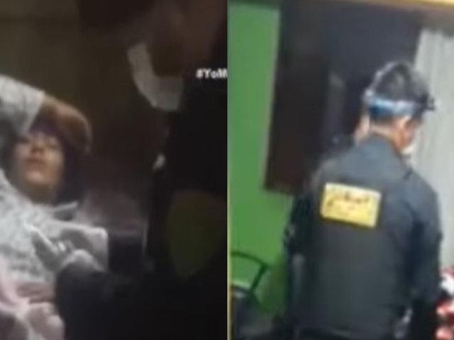 Huarmey: Policías atienden parto en pleno toque de queda