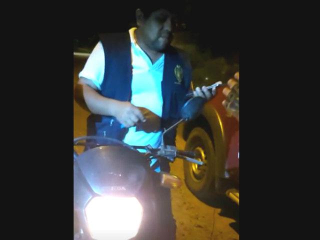 Puerto Maldonado: fiscal es detenido en estado de ebriedad y con chaleco del Ministerio Público