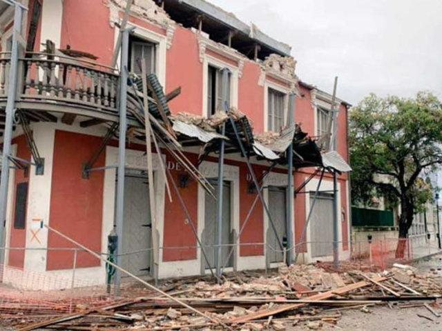 Daños de consideración deja fuerte sismo en Puerto Rico