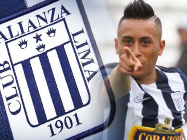 """Christian Cueva: """"No sé si me retiraré en Alianza Lima"""""""