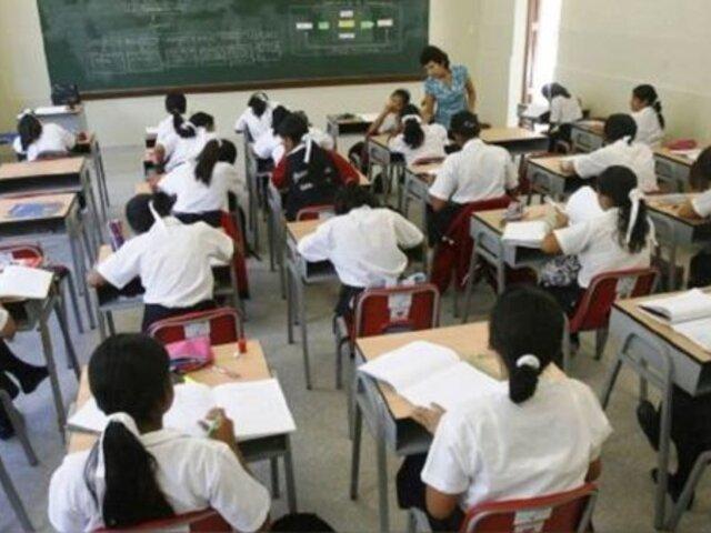 Congreso: proponen suspender clases en colegios hasta tener vacuna contra el COVID-19