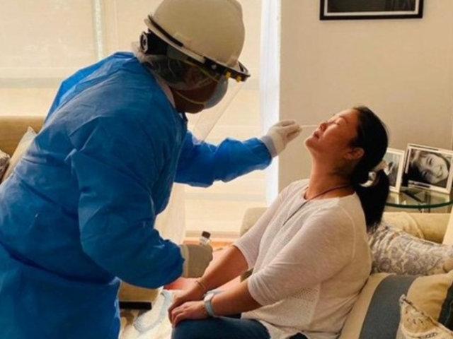 Keiko Fujimori se sometió a pruebas de hisopado y rápida para descarte de COVID-19